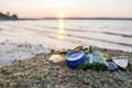 some of the beach glass found on the shores of Nova Scotia