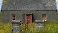 Abandoned house on the Isle of Lewis, Scotland