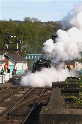 Steam at Grosmont
