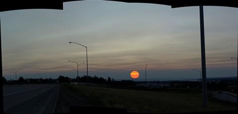 SunsetPanoramaAug10th2012SkyInForestFireSmoke_I84Freeway181stAveExit_5000Pxl_DSC09677_Pano-stitch