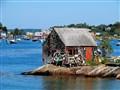Fishing Shack, Baileys Island, Maine