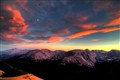 Sunset Over Trail Ridge