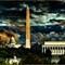 Midnight Glow: Washington DC view from Iwo Jima.