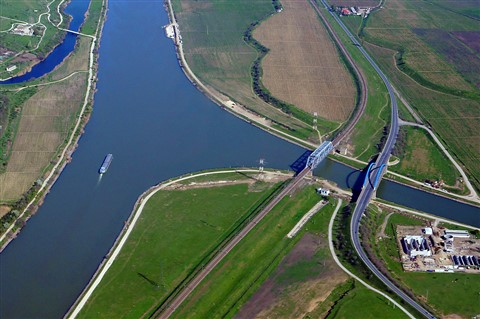 Water, Rail, Road, Air