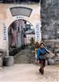 Worker in Chengkan, China