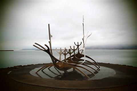 Solfar (Sun Voyager) Sculpture