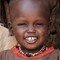 Masai Cute Smile: This child's soul is happy no matter the conditions in her village in Kenya