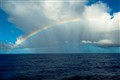 Rainbow sailing to Puerto Rico