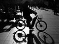 Chinese Cyclist (B+W)