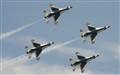 Thunderbird's over Rhode Island