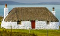 Croft on Uist outer Hebrides Scotland