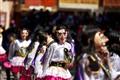Street dancers Peru