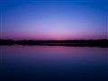Sunset over Peach Lake, MI