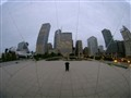 Cloud Gate fish eye lens