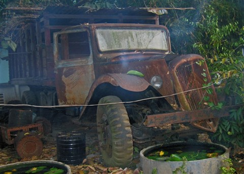 Rusting away....