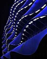Cool blue.