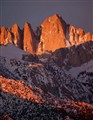 Mt. Whitney Dawn Alpenglow