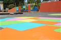 pinehurst elementary playground paintjob