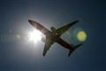 Boeing 737-800 flaring