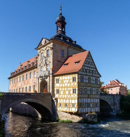 Altes Rathaus (Old Town Hall), Bamberg, Germany
