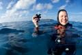 The smile says it all!  Miyaru Kandu (dive site) @ Vaavu Atoll, Maldives.