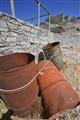 Rusty Drum Barrels