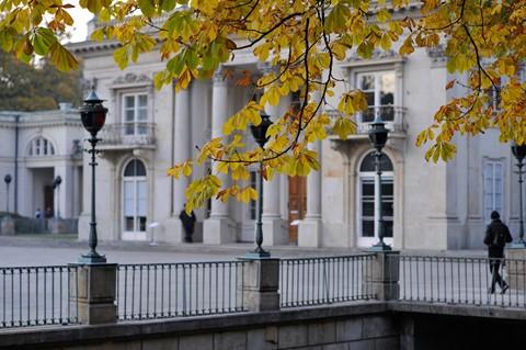 Fall in Lazienki park