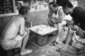 Gamblers of Beijing hutong