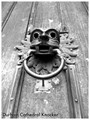 Durham Cathedral Knocker