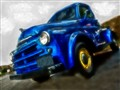 Blue Truck Painting1