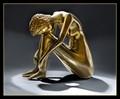 Brass sculpture from Zimbabwe