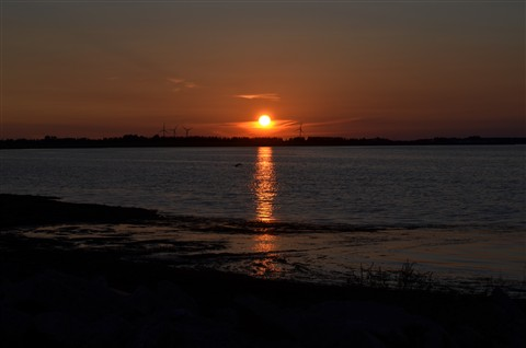 Sunset at Crystal Beach, Summerside, PEI, Canada