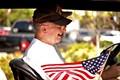4th of july patriotism in Key Largo