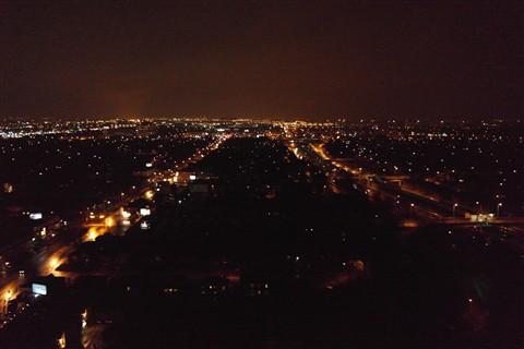 Dark Night: OOC JPG Fine, ISO 3200, OIS, kit lens