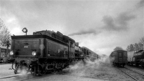 train in reverse