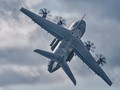 RAF A400 gentle climb out