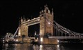 The mysterious Tower Bridge in London