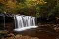Oneida Falls in Autumn