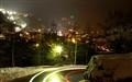 Oetztal Strasse bei Nacht