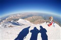 On the western peak of Elbrus