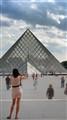 Pyramide & touristes