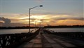 Sunset Demerara River bridgedp