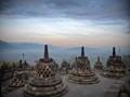 Biggest buddist temple. Indonesia