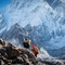 Porters on the way to Everest Basecamp