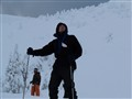 content skier