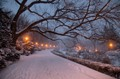 Snow at Fort Tryon