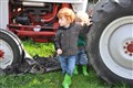 Little Boys and a Tractor