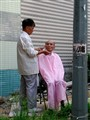 Outdoor Barber Shop