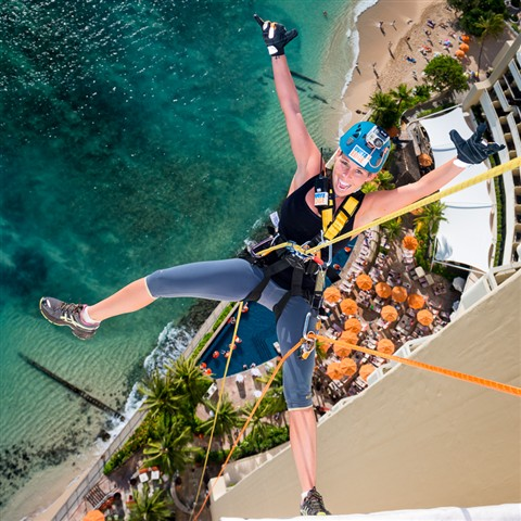 Over the EDGE, Sheraton Waikiki 2012