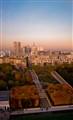 Paris viewed from an air balloon